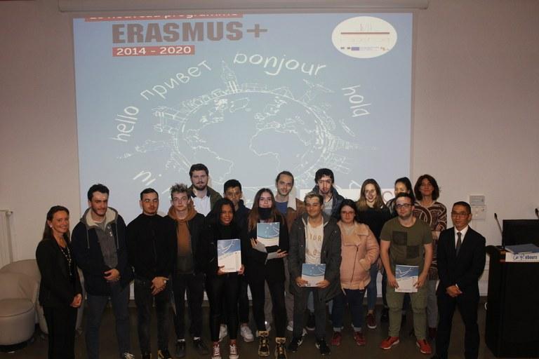 remise-des-certifications-eramus-8-novembre-2018